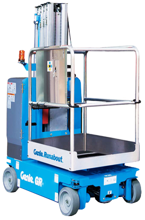 GENIE GR-12 ELECTRIC PERSONNEL LIFT