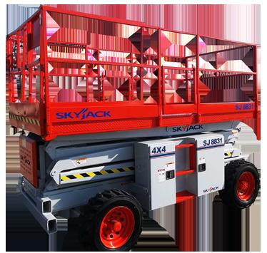 SKYJACK SJ8831 R/T SCISSOR LIFT