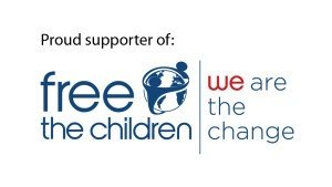 PROUD SUPPORTERS OF FREE THE CHILDREN